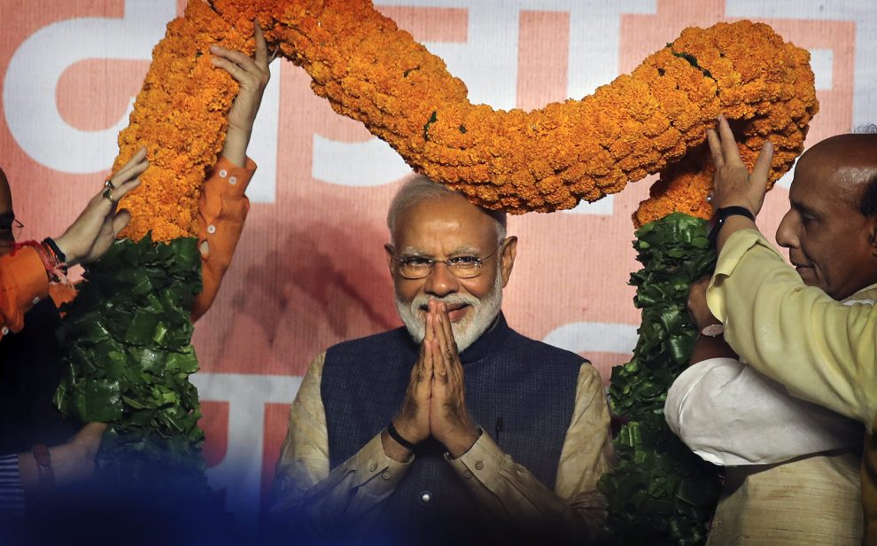 India's Prime Minister Modi pursues politics of Hindu nationalism