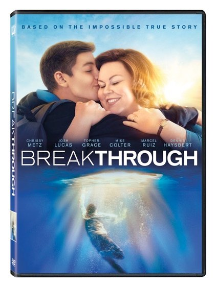 BREAKTHROUGH arrives on digital, Ultra HD™, Blu-ray™ and DVD this