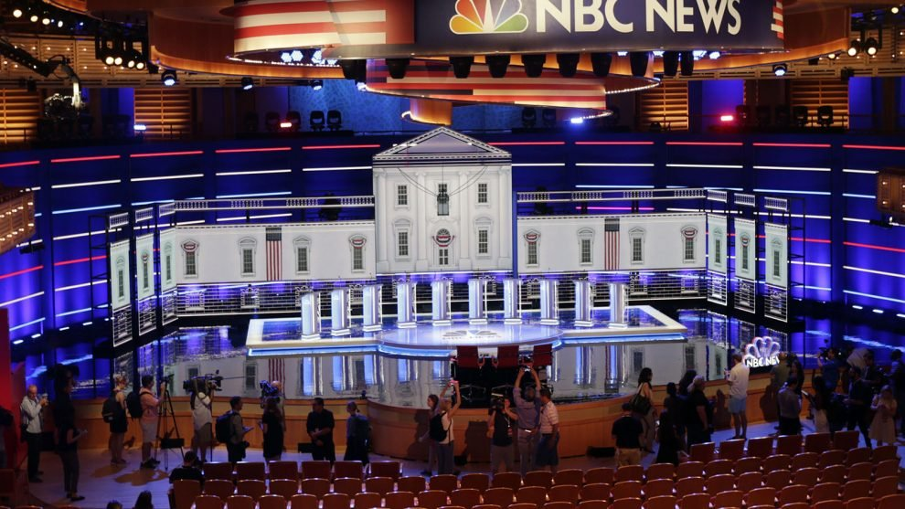 Eclectic field could turn first Democratic debate into a faith forum