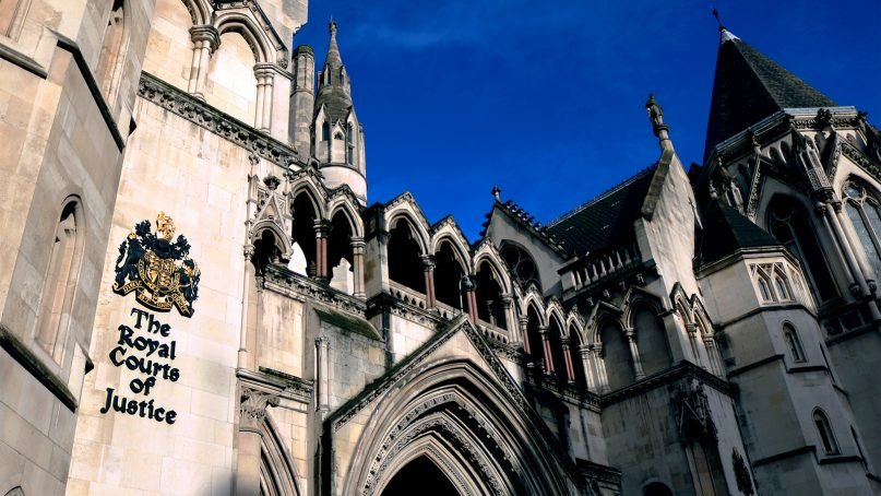 The Royal Courts of Justice in London. Photo by Steve Brown/Creative Commons
