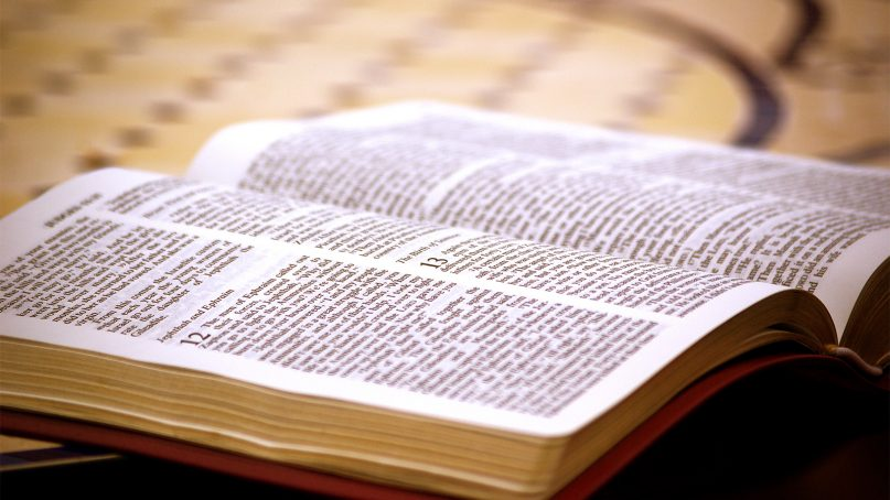 China now prints more Holy Bibles than any other country. Photo by Adam Dimmick/Creative Commons