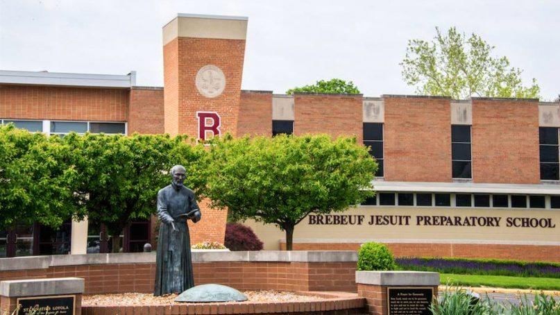 Brebeuf Jesuit Preparatory School in Indianapolis. Photo via Facebook
