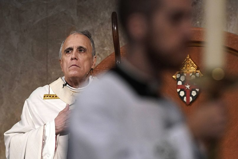 Cardinal Daniel DiNardo presides over a Mass of Ordination for candidates for the priesthood at the Co-Cathedral of the Sacred Heart in Houston on June 1, 2019. DiNardo, leading the U.S. Catholic Church's sex abuse response, has been accused of mishandling a case where his deputy allegedly manipulated a woman into a sexual relationship, even as he counseled her husband and solicited their donations. (AP Photo/David J. Phillip)