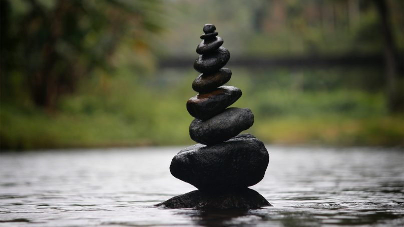 Many aim to achieve perfect balance. Photo by Delight Frames/Creative Commons