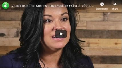 Faithlife partners with Church of God (Anderson, IN) to