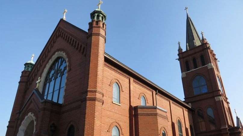 St. Mary's Catholic Church in Greenville, S.C., in 2017. Photo by Antony-22/Creative Commons