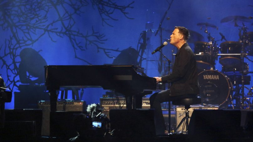 Artist Michael W. Smith performs at