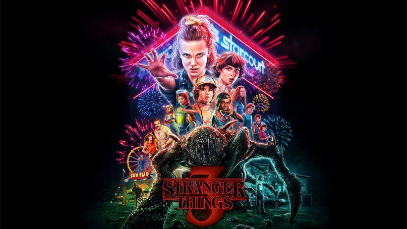 Stranger Things 3 poster. Image courtesy of Netflix
