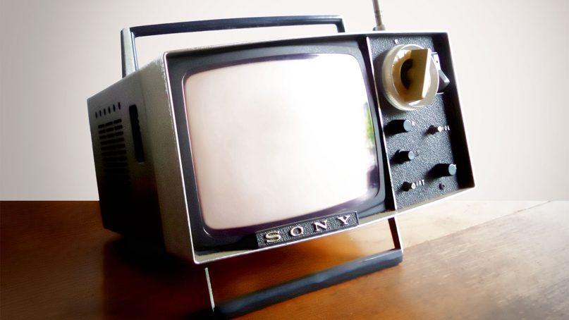 A vintage television. Photo by (Joenomias) Menno de Jong/Creative Commons