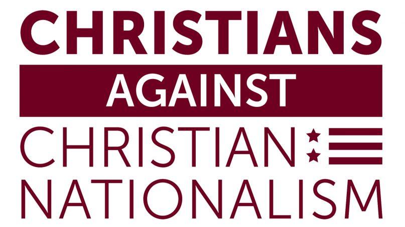 Christians Against Christian Nationalism logo. Courtesy image
