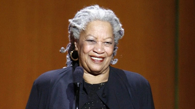 Nobel Prize-winning author Toni Morrison appears at the 18th annual Glamour Women of the Year awards in New York on Nov. 5, 2007. (AP Photo/Jason DeCrow)