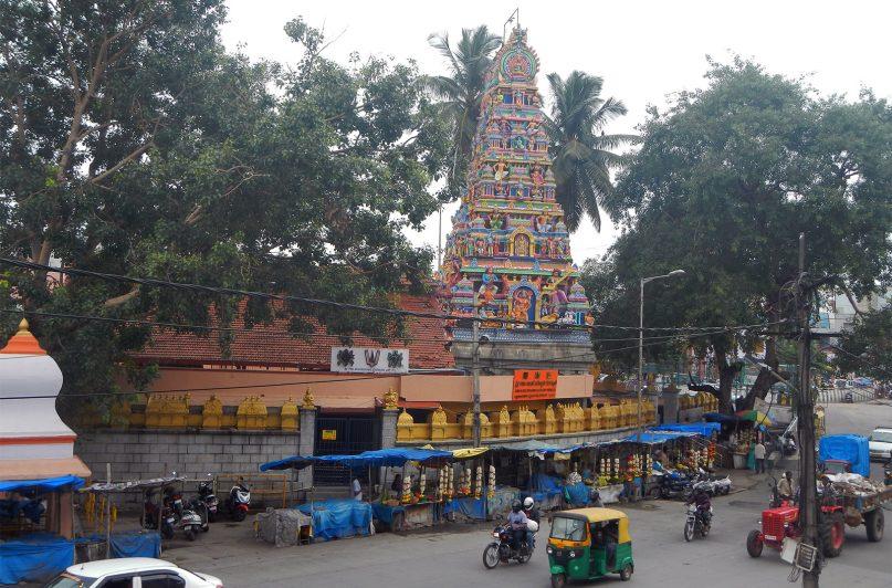 The Gali Anjaneya Swami Temple in Bangalore, India. RNS photo by Priyadarshini Sen