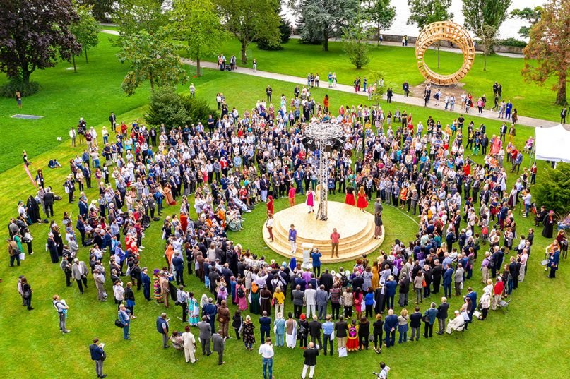 Religions for Peace ceremony for the Ring for Peace in Lindau, Germany. Photo by Christian Flemming/Religions for Peace