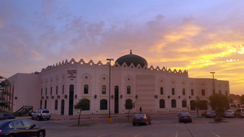 The Islamic Center of Irving in Irving, Texas. Photo courtesy of Creative Commons