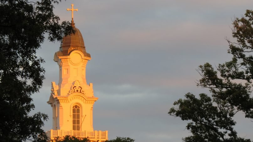 Aspinwall Hall at Virginia Theological Seminary in Alexandria, Virginia. Photo courtesy of VTS