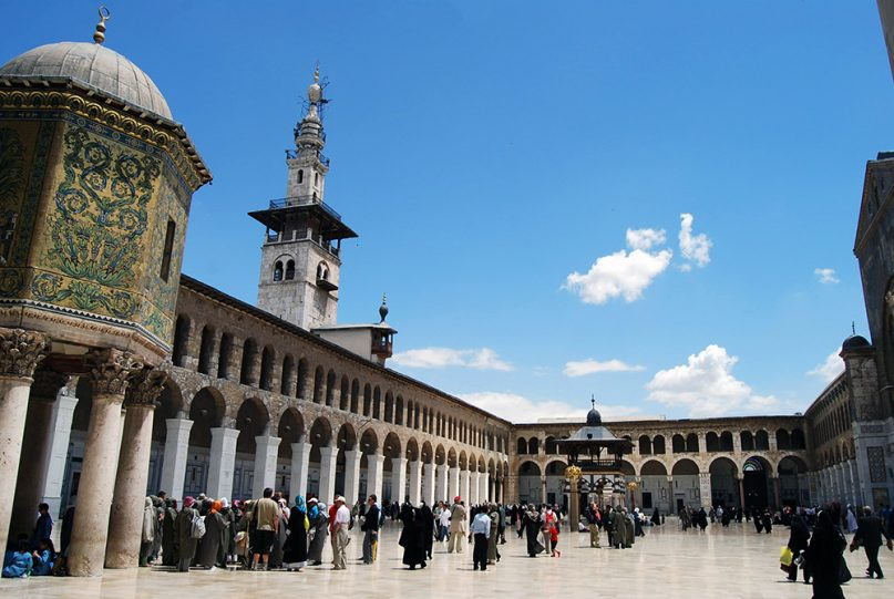The Umayyad Mosque in Damascus. Photo by Alessandra Kocman/Creative Commons