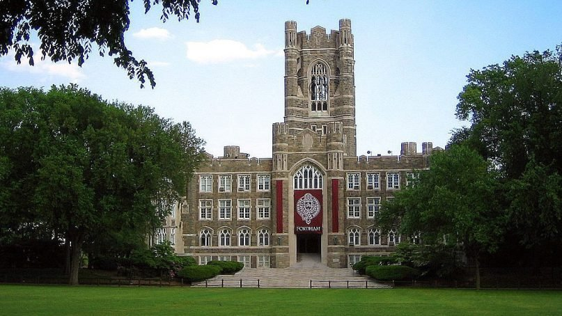 Keating Hall at Fordham University in the Bronx borough of New York. Photo by Chriscobar/Creative Commons