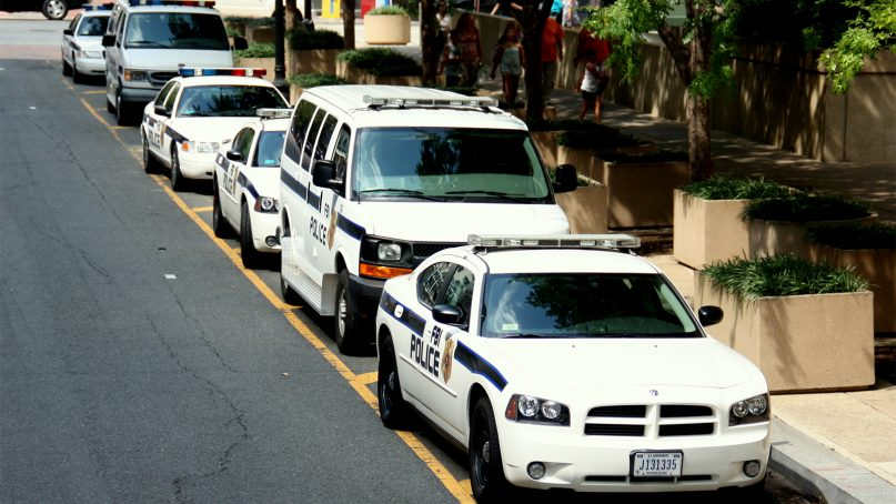FBI Police vehicles. Photo by André Gustavo Stumpf/Creative Commons