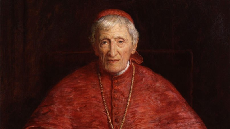 An portrait of Cardinal John Henry Newman made by Sir John Everett Millais in 1881. Image courtesy of Creative Commons