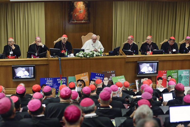 Working groups at the Vatican's Amazon synod push for married clergy