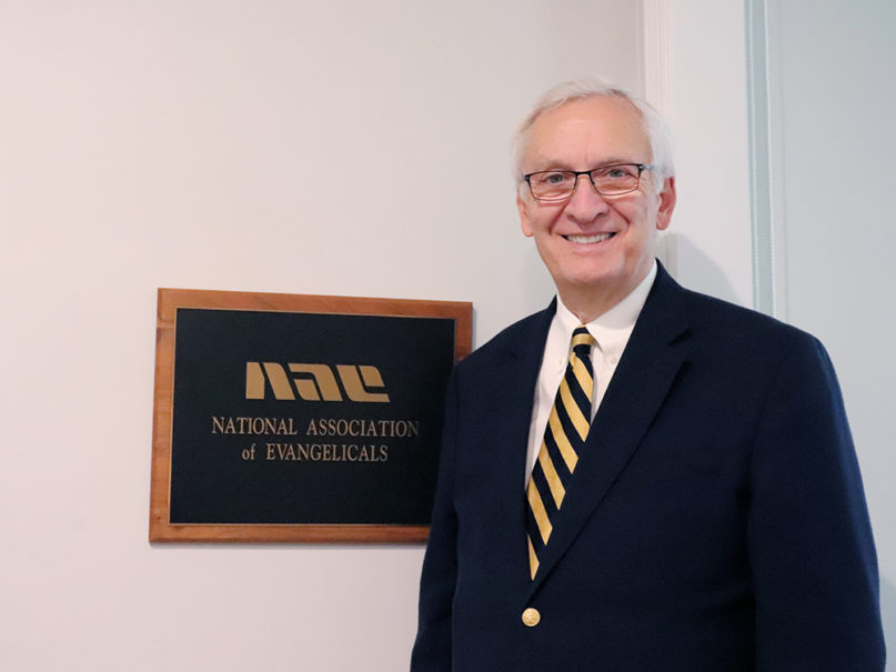 Leith Anderson has president of the National Association of Evangelicals since 2006. RNS photo by Adelle M. Banks