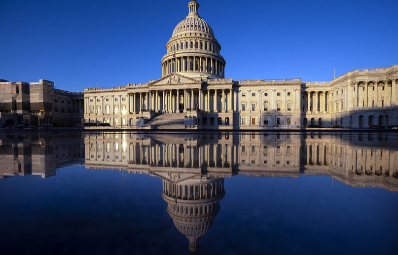The Capitol is seen in Washington, early Dec. 18, 2019. (AP Photo/J. Scott Applewhite)