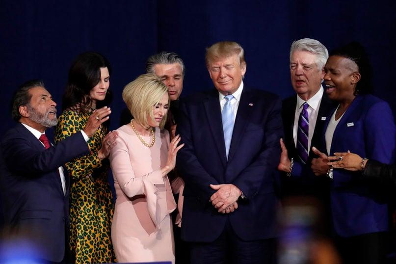 Prominent evangelical Jerry Falwell Jr. denies having a