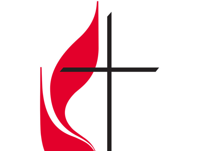 Part of the United Methodist Church logo. Image courtesy of Creative Commons