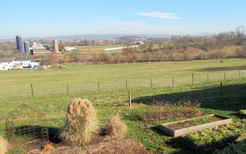 Farms in Eastern Lancaster County, Pennsylvania. Photo by Elizabeth E. Evans