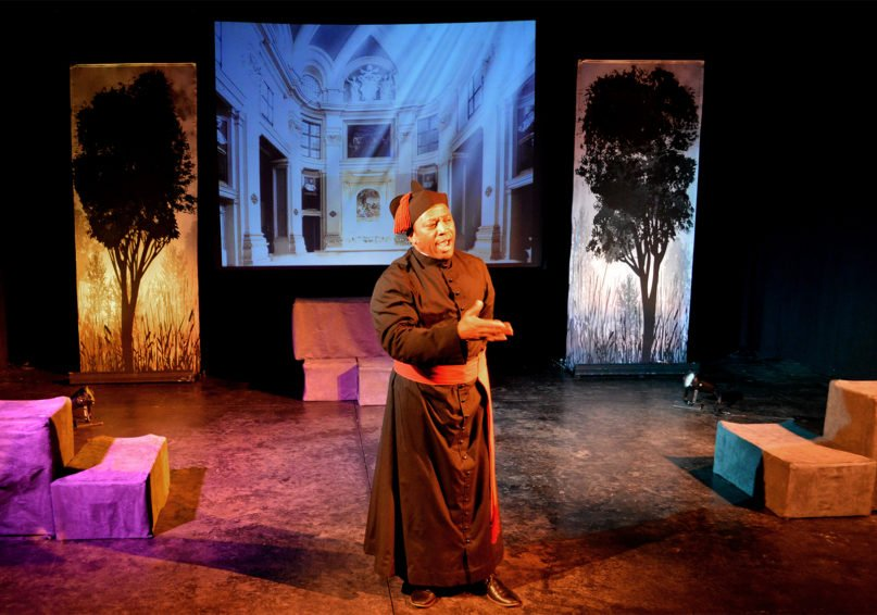 """Jim Coleman portrays Father Augustus Tolton in """"Tolton: From Slave to Priest."""" Photo courtesy of Saint Luke Productions"""