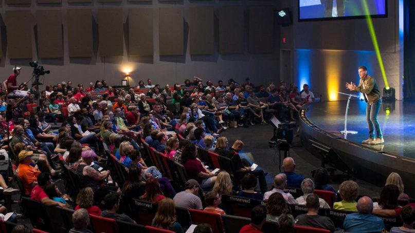 Pastor Craig Groeschel preaches at Life.Church. Photo courtesy of Life.Church