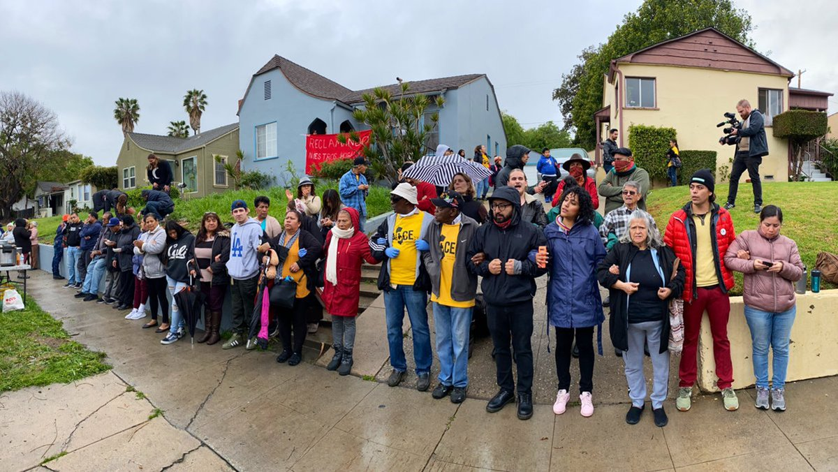Interfaith Clergy Unite for Mothers and Housing Activists Who Took Over Vacant LA House