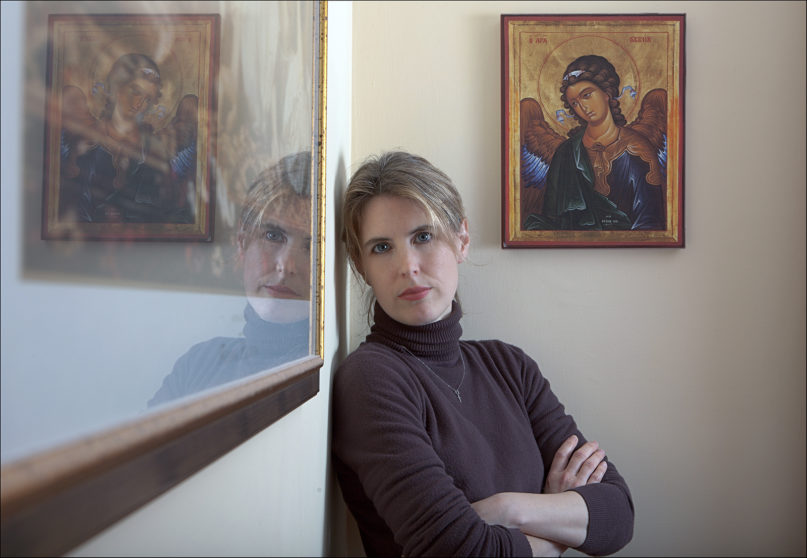 """Sally Read, author of """"Annunciation: A Call to Faith in a Broken World."""" Courtesy photo by Dino Ignani"""