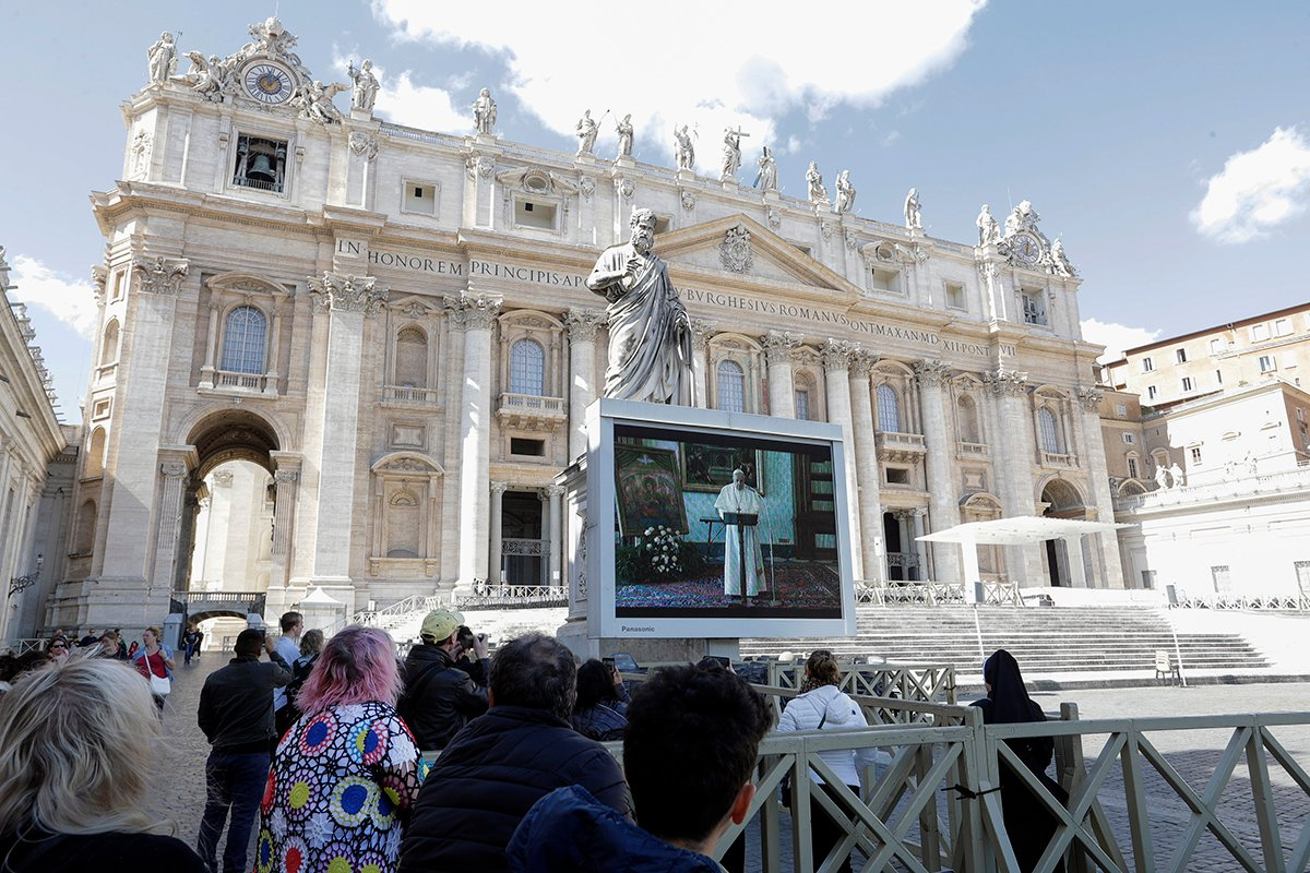Vatican Tightens Safety Measures After Italy Reports Second-Highest Coronavirus Death Toll