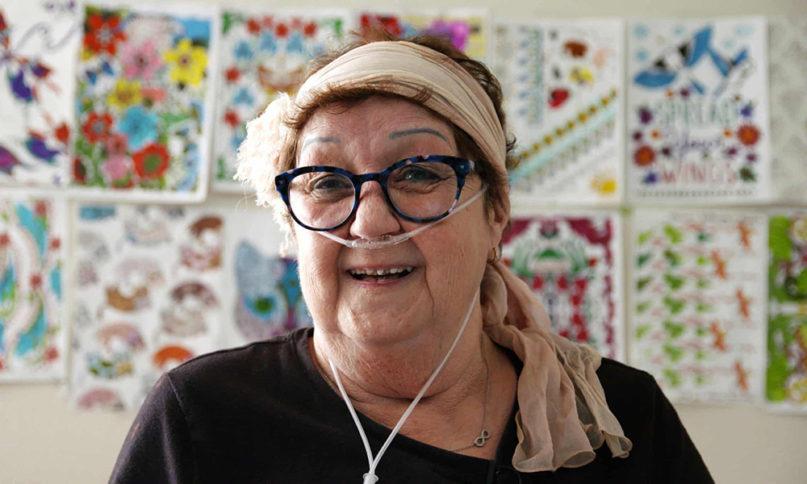 Norma McCorvey in the FX documentary