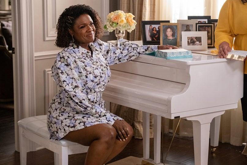 "Deborah Joy Winans portrays Charity Greenleaf in the OWN series ""Greenleaf."" Photo courtesy of OWN"