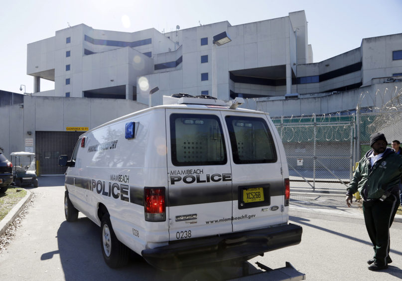 The Turner Guilford Knight Correctional Center in Miami, Jan. 13, 2014.  (AP Photo/Lynne Sladky)