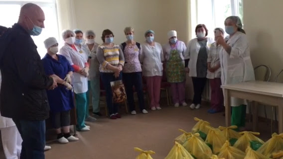 RUSSIAN CHRISTIANS SPUR 'LOVE IN ACTION': Supported by Slavic Gospel Association (SGA, www.sga.org), evangelical Christians in Russia and the former Soviet Union have distributed groceries to provide more than 1.5 million free meals and a message of God's love to families facing hunger -- including frontline medical workers caring for COVID-19 patients.