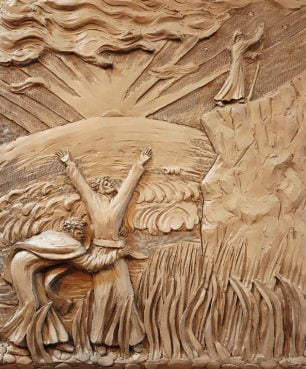 Purgatory, Canto 1. Work by and images courtesy of Canadian sculptor Timothy Schmalz