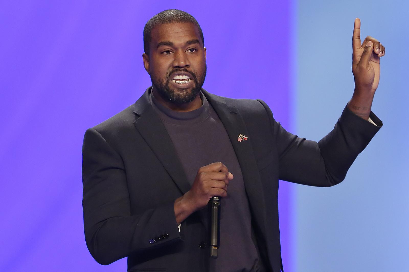 Kanye está concorrendo à presidência – e sua plataforma tem muito de Deus