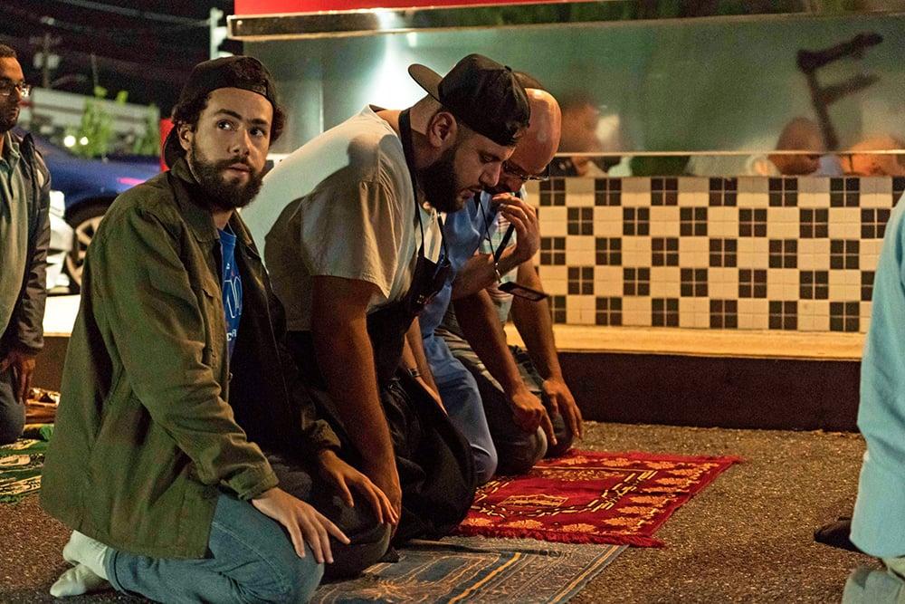 "Ramy Youssef, left, stars in ""Ramy."" Photo by Barbara Nitke/Hulu"