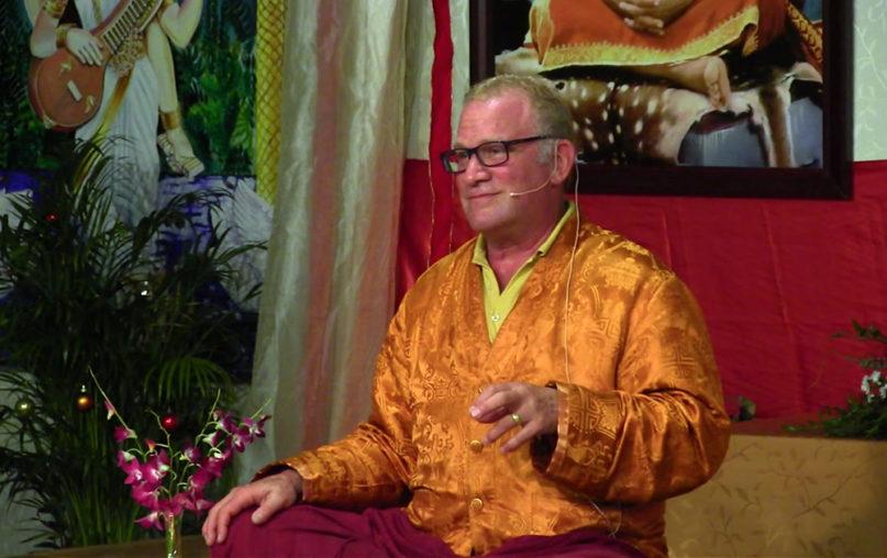 Lama Surya Das speaks in a February 2016 video from the Sivananda Ashram Yoga Retreat in the Bahamas. Video screengrab