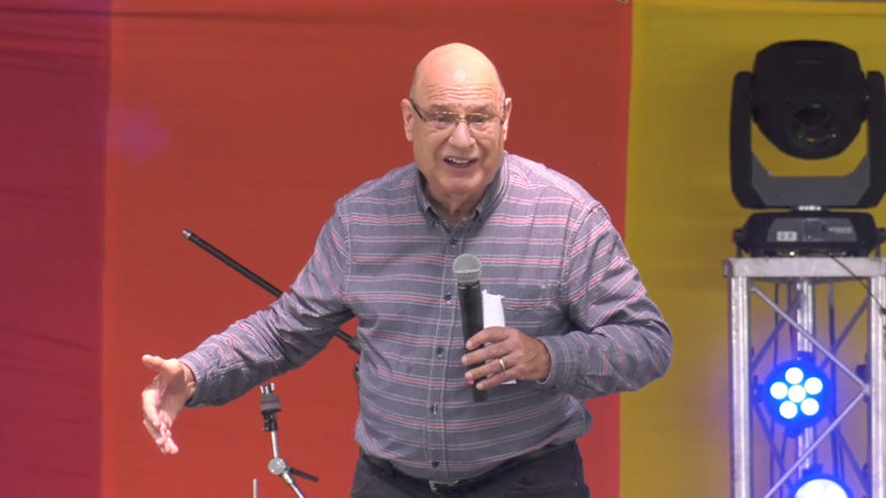 Tony Campolo speaks at Wild Goose Festival 2019. Video screengrab