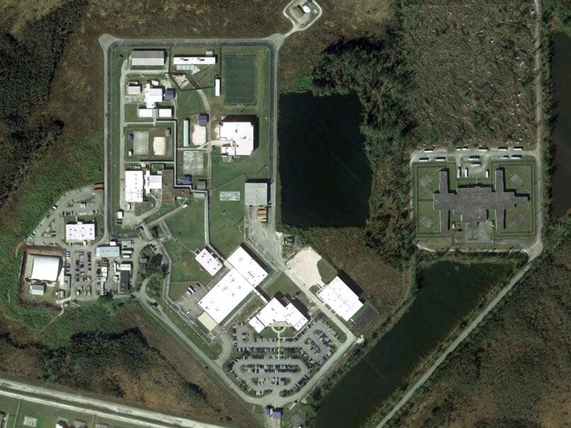 The Krome Service Processing Center in Miami. Image courtesy of Google Maps