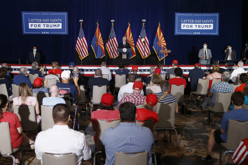 Vice President Mike Pence speaks at the