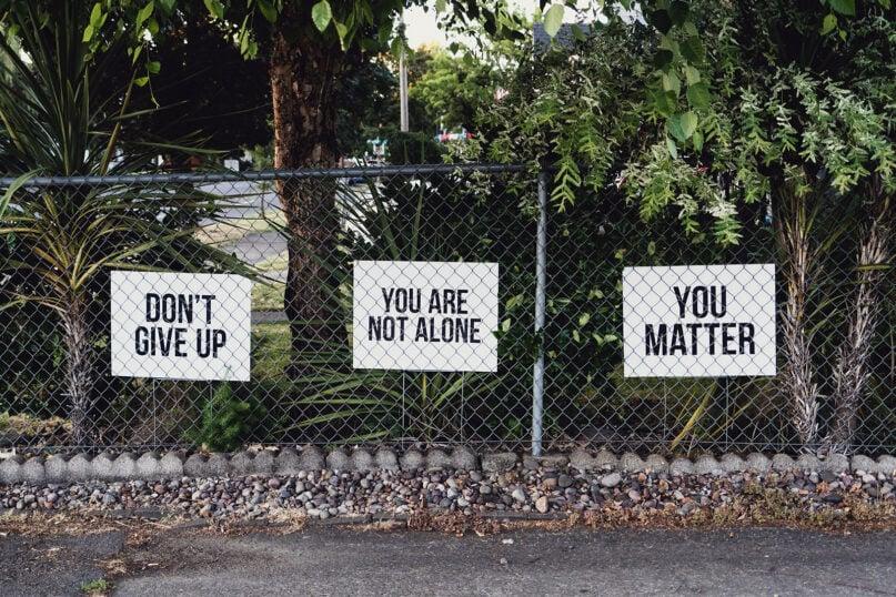 Signs of encouragement in Salem, Oregon. Photo by Dan Meyers/Unsplash/Creative Commons
