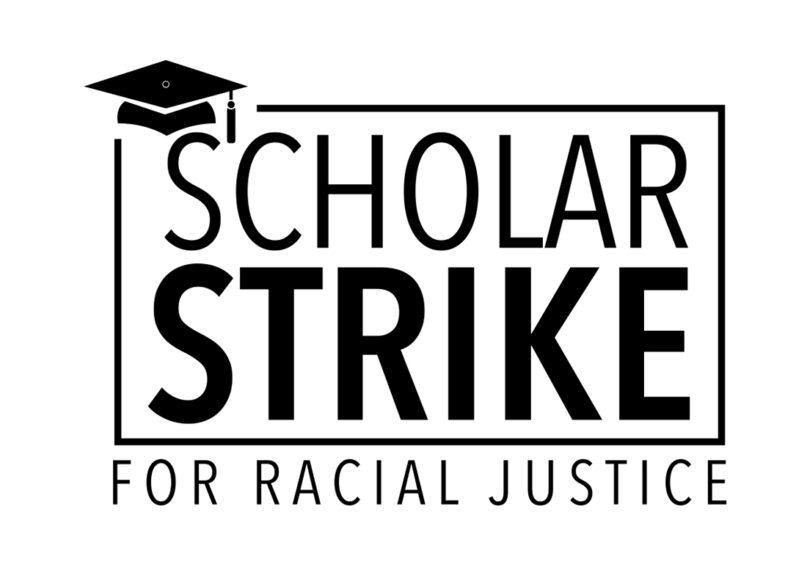 The Scholar Strike logo. Screengrab
