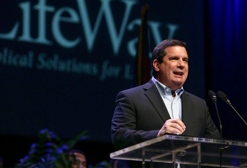Thom Rainer, former president of Southern Baptist retailer LifeWay Christian Resources. Photo by Bill Bangham, courtesy of Baptist Press