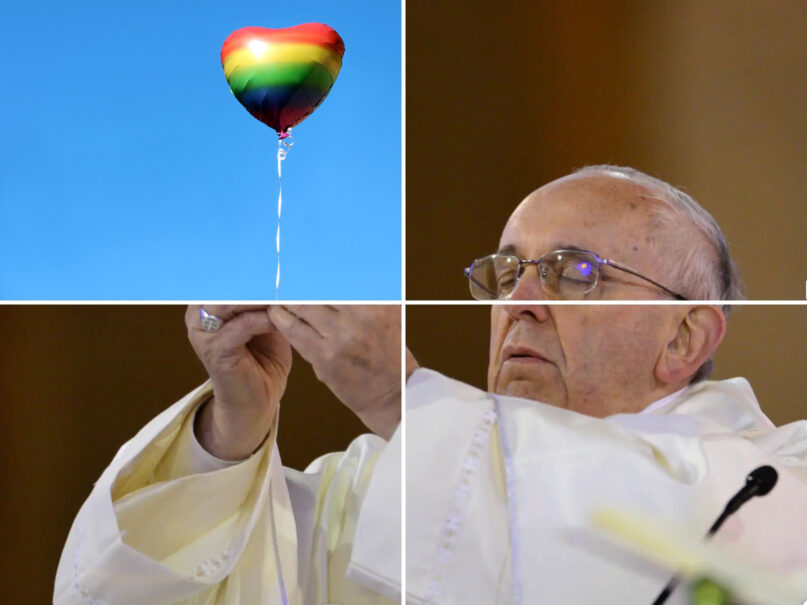 Pope Francis' comments on same-sex unions underline his commitment to justice for all. (Buda Mendes/Getty Images)