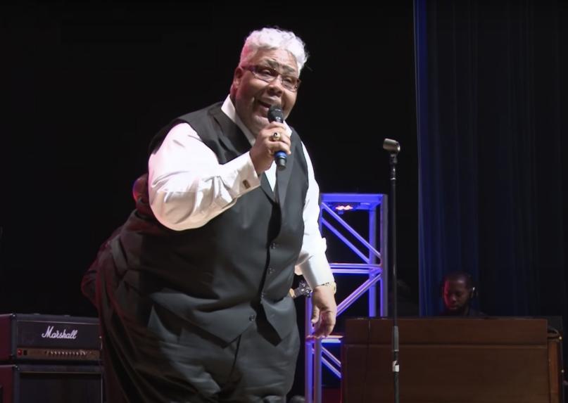 Bishop Rance Allen performs in 2014. Video screengrab via Warner Music Group